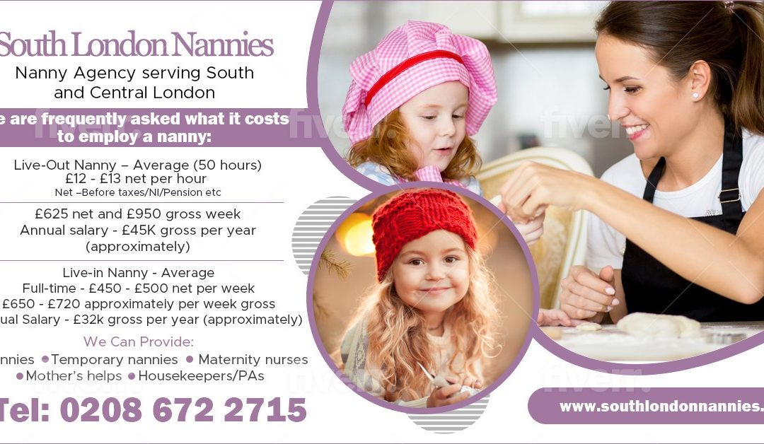 Cost of Employing A Nanny